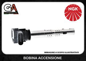 Bobina Accensione Audi A4 A3 VW golf 6 Fiat NGK 48042 U5015