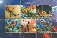 Dinosaurier Djibouti postfrisch  2599