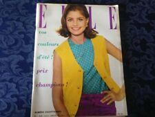 Elle France Rivista Magazine 5 Aprile 1963 n.902 Sophia Loren
