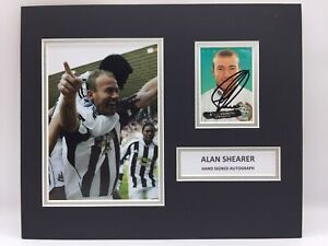 RARE Alan Shearer Newcastle United Signed Photo Display + COA AUTOGRAPH NUFC