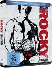Rocky Collection 1-6 (Blu-ray Steelbook) BRAND NEW PRE-ORDER