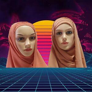 Turban Hijab Criss Cross Bonnet Lycra Stretchy Pull on Ready Made  chiffon
