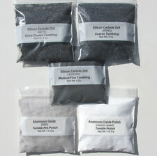 Rock Tumbling Grit Kit for Full Spectrum Lapidary Processing in Rotary Tumbler
