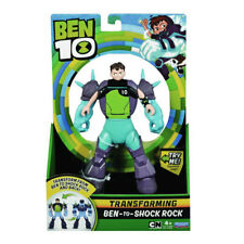 Ben 10 Transformer Alien 17cm Figura - Ben-To-Shock Rock Nuevo