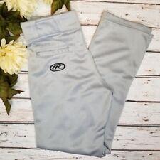 Russell Youth Boys Medium Gray Semi-Relaxed Baseball Pants READ