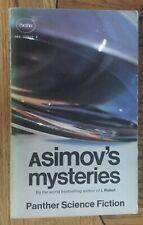 Asimov - Asimov's Mysteries UK 1972 Paperback Panther Science Fiction