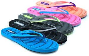 Ladies New Flip Flops Toe Post Beach/Holiday Pool Summer Slippers UK SIZES 3-8