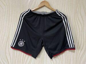 GERMANY 2014 2015 AWAY FOOTBALL SOCCER SHORTS ADIDAS G74527 sz S