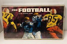 Vintage 1966 PRO FOOTBALL Board Game 3M Sports Game 100% Complete