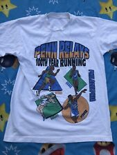 New listing 1995 100th Penn Relays Philadelphia Distance Classic T Shirt Adult L