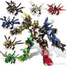 Cool Transformers Robot Animals Building Bricks Toys Construction Blocks Kits