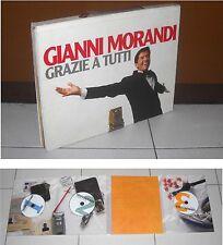 Box Gianni Morandi GRAZIE A TUTTI EDIZIONE LIMITATA 3CD + LIBRO - BMG 2007