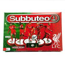 Subbuteo Juego de Fútbol de Mesa Liverpool FC Edición Juego Completo 2 equipos redes Bola