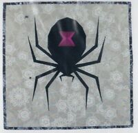 Spooky Spider - foundation paper piecing mini quilt PATTERN - Flying Parrot
