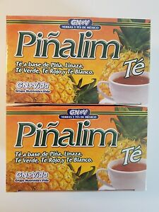 2 Pack Te Pinalim GN+Vida Tea Piñalim Pineapple Diet 60 Days