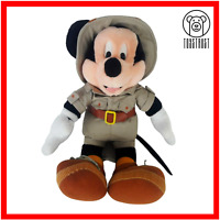 Disney Mickey Mouse Soft Toy Disneyland Safari Edition Plush Stuffed Character