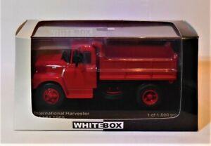 1/43 WhiteBox WB271  1960 International Harvester NV-184  Red Tipper Truck