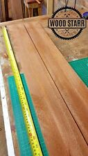BRAZILIAN HARDWOOD MAHOGANY TIMBER PLANK WOOD 1680mm x 112mm x 21mm x2