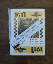 INDY 500 75th RACE GAME CARDS LOT 50+,1991 (MT) VINTAGE-VTG-OLD-INDIANAPOLIS-CAR