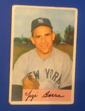 1954 Bowman Yogi Berra #161 New York Yankees Baseball Card