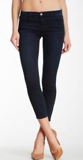 J BRAND 80035 CAPRI SKINNY ATMOSPHERE dark wash sateen twill jeans 27