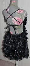 New listing So Strictly! Rare! Stunning Feathered Show-Girl Style Dress - Size XL UK 12/14