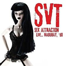 SVT - SEX ATTRACTION LIVE...MABUHAY '80 CD NEW+