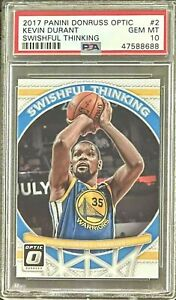 2017 Kevin DURANT - Swishful Thinking - PSA 10