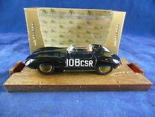 Brumm R154 1954-60 Jaguar D-Type in Black HP 260 Racing No. 108  Scale 1:43