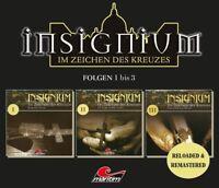 ASCAN VON BARGEN - INSIGNIUM-IM ZEICHEN DES KREUZES FOLGEN 1-3  3 CD NEU