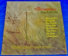 "The Continentals (Sing It With Love) Singers & Orchestra Christian Vinyl 12"" LP"