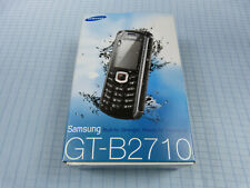 Samsung Xcover GT-B2710 Schwarz/Rot! NEU & OVP! Ohne Simlock! Unbenutzt! RAR!