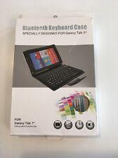 """New Bluetooth Keyboard Leather Case for Samsung Galaxy Tab 7"""""""