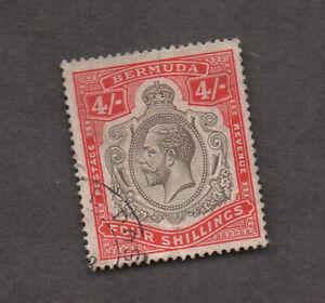 Bermuda #51, used, Fine-VF. Small, neat, face-free postmark