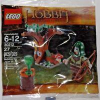 LEGO new sealed PROMO POLYBAG Baggie set 30212 HOBBIT Mirkwood Elf Guard Tolkin