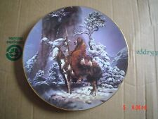 The Hamilton Collection Collectors Plate MYSTIC WARRIOR Native Indian