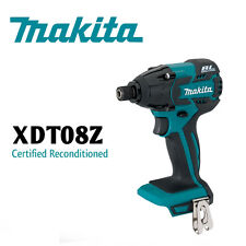 Makita XDT08 18V LXT Lithium‑Ion Brushless  Impact Driver,Tool Only W/ Warranty!