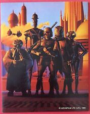 Star Wars Fan Club Promo Sticker - Boba Fett & Bounty Hunters - Lucasfilm - RARE