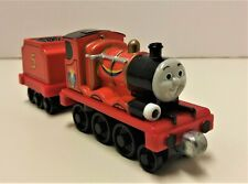 Thomas & Friends Wooden Railway James and Tender w/ lights & sound
