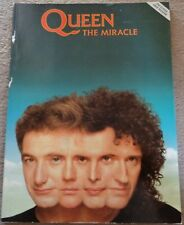 Queen - The Miracle 1989 guitar book for the album