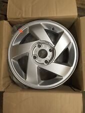 "06 KIA RIO 14"" 4X100MM SILVER 5 SPOKE WHEEL BRAND NEW OEM FACTORY RIM 74579"