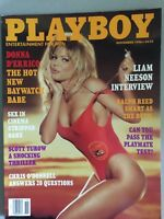 Vintage Playboy November 1996 Donna D'errico Pictorial Magazine Original