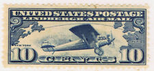 United States #C10(1) 1927 10 cent LINDBERGH'S PLANE SPIRIT OF ST. LOUIS MH CV$7