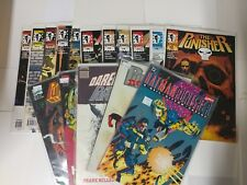 Marvel comic lot The Punisher 1-12 Bloodlines Die Hard in the Big Easy Bb