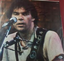 *RARE* Neil Young Autograph Picture Sleeve Hand Signed PAAS//COA