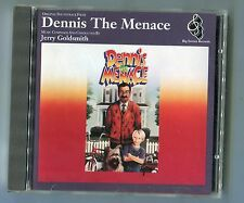 OST Soundtrack CD DENNIS THE MENACE © 1993 EU-14-track Jerry Goldsmith Near mint