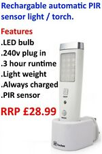AP Rechargeable Emergency & Sensor Light - Night Light Motion Sensor PIR & Torch