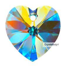 Swarovski Crystal Heart prism - 40 mm Aurora Borealis