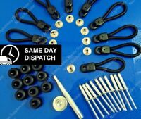 Bunji Loops Fitting Kit  70mm 10 pk - 4WD Bunji Tonneau Ute Marine Knob Loop