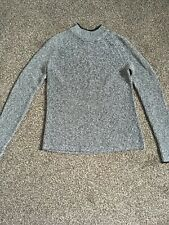 H And M Grey Knitted Jumper Size XS 6